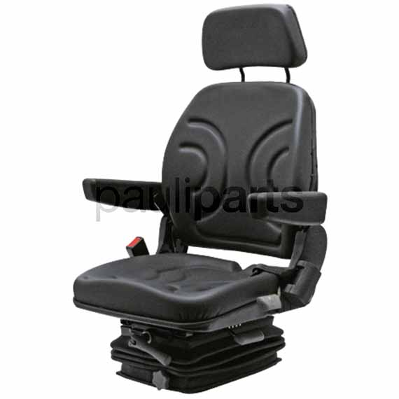 Cloth Tractor Seats : Comfort seat mechanical spring loaded fabric tractor